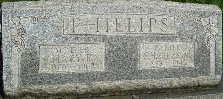 PHILLIPS, MARY E - Montgomery County, Ohio | MARY E PHILLIPS - Ohio Gravestone Photos