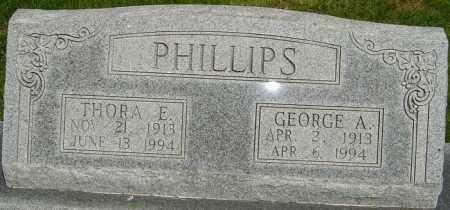 SCHEFFEL PHILLIPS, THORA EILEEN - Montgomery County, Ohio | THORA EILEEN SCHEFFEL PHILLIPS - Ohio Gravestone Photos