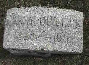 PHILLIPS, JERRY - Montgomery County, Ohio | JERRY PHILLIPS - Ohio Gravestone Photos