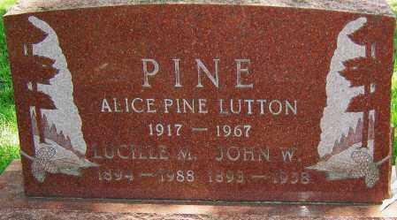 MILLER PINE, LUCILLE - Montgomery County, Ohio | LUCILLE MILLER PINE - Ohio Gravestone Photos