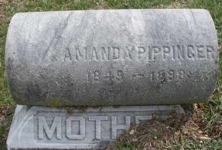 PIPPINGER, AMANDA - Montgomery County, Ohio   AMANDA PIPPINGER - Ohio Gravestone Photos