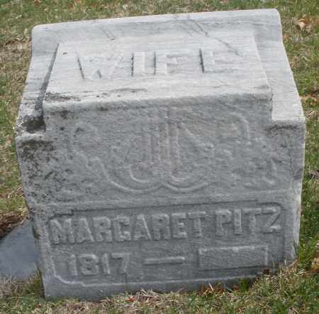 PITZ, MARGARET - Montgomery County, Ohio | MARGARET PITZ - Ohio Gravestone Photos