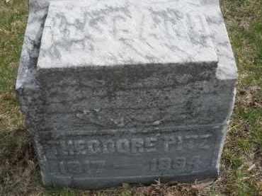 PITZ, THEODORE - Montgomery County, Ohio | THEODORE PITZ - Ohio Gravestone Photos