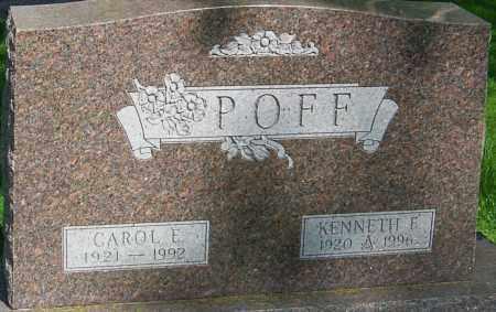 POFF, KENNETH EDGAR - Montgomery County, Ohio   KENNETH EDGAR POFF - Ohio Gravestone Photos