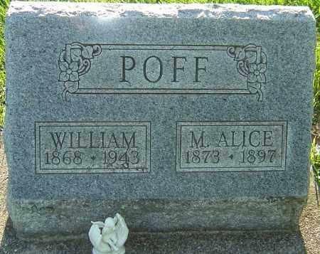 POFF, M ALICE - Montgomery County, Ohio | M ALICE POFF - Ohio Gravestone Photos