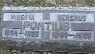 PONTIUS, SERENUS - Montgomery County, Ohio | SERENUS PONTIUS - Ohio Gravestone Photos