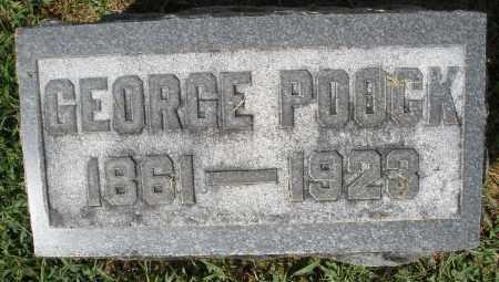 POOCK, GEORGE - Montgomery County, Ohio | GEORGE POOCK - Ohio Gravestone Photos