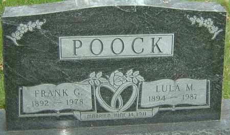 POOCK, LULA MARY - Montgomery County, Ohio | LULA MARY POOCK - Ohio Gravestone Photos