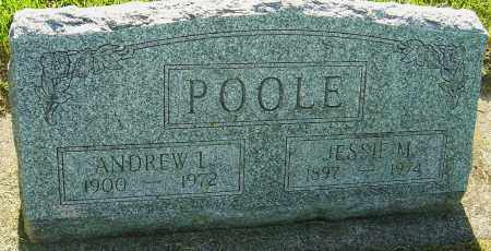 POOLE, JESSIE M - Montgomery County, Ohio | JESSIE M POOLE - Ohio Gravestone Photos