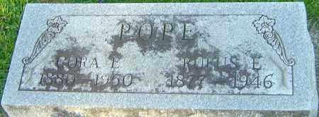 POPE, CORA E - Montgomery County, Ohio | CORA E POPE - Ohio Gravestone Photos