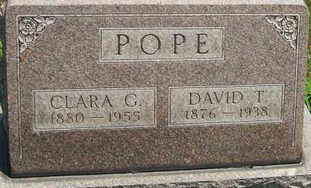 POPE, DAVID T - Montgomery County, Ohio | DAVID T POPE - Ohio Gravestone Photos