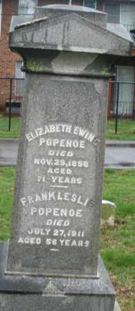POPENOE, FRANK LESLIE - Montgomery County, Ohio | FRANK LESLIE POPENOE - Ohio Gravestone Photos