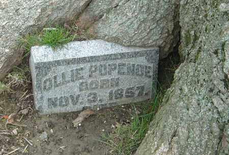 POPENOE, OLLIE - Montgomery County, Ohio | OLLIE POPENOE - Ohio Gravestone Photos