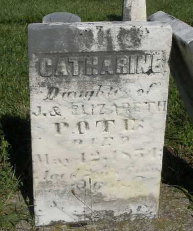 POTE, CATHARINE - Montgomery County, Ohio | CATHARINE POTE - Ohio Gravestone Photos