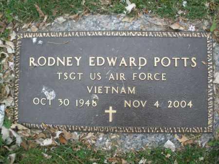 POTTS, RODNEY EDWARD - Montgomery County, Ohio | RODNEY EDWARD POTTS - Ohio Gravestone Photos