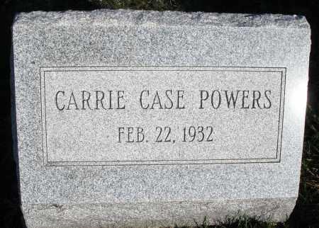CASE POWERS, CARRIE - Montgomery County, Ohio | CARRIE CASE POWERS - Ohio Gravestone Photos