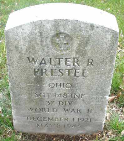 PRESTEL, WALTER R. - Montgomery County, Ohio | WALTER R. PRESTEL - Ohio Gravestone Photos