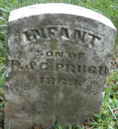 PRUGH, INFANT SON - Montgomery County, Ohio | INFANT SON PRUGH - Ohio Gravestone Photos