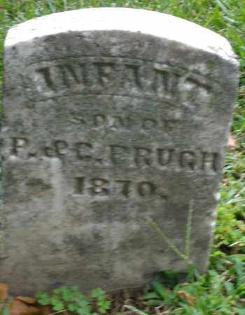 PRUGH, INFANT SON - Montgomery County, Ohio | INFANT SON PRUGH - Ohio Gravestone Photos