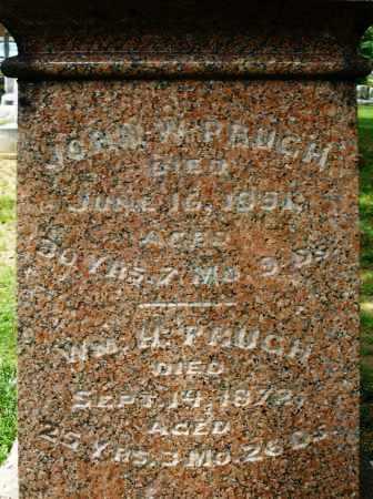 PRUGH, WILLIAM H. - Montgomery County, Ohio | WILLIAM H. PRUGH - Ohio Gravestone Photos