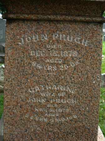 PRUGH, JOHN - Montgomery County, Ohio | JOHN PRUGH - Ohio Gravestone Photos
