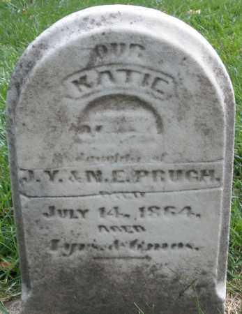 PRUGH, KATIE - Montgomery County, Ohio | KATIE PRUGH - Ohio Gravestone Photos