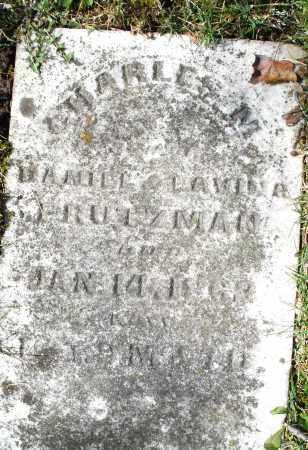 PRUTZMAN, CHARLES  M. - Montgomery County, Ohio | CHARLES  M. PRUTZMAN - Ohio Gravestone Photos
