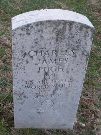 PUGH, CHARLES JAMES - Montgomery County, Ohio | CHARLES JAMES PUGH - Ohio Gravestone Photos