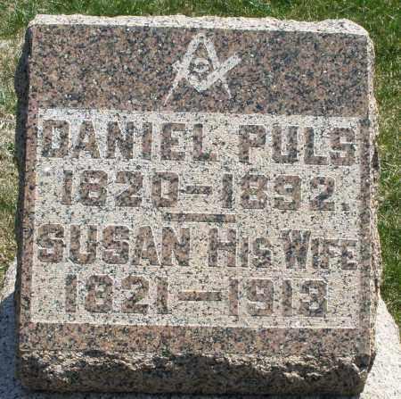 PULS, DANIEL - Montgomery County, Ohio | DANIEL PULS - Ohio Gravestone Photos