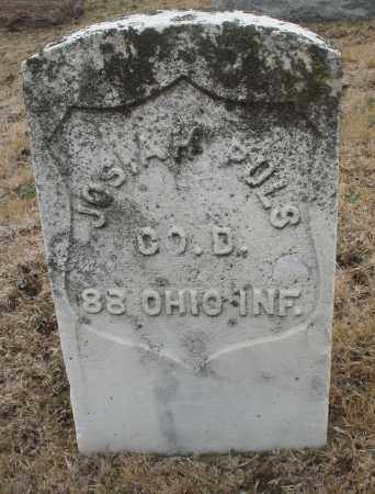 PULS, JOSIAH - Montgomery County, Ohio   JOSIAH PULS - Ohio Gravestone Photos