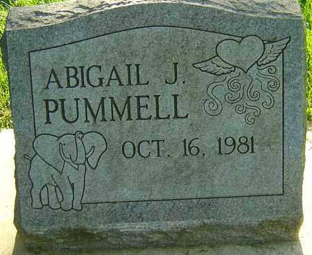 PUMMELL, ABIGAIL J - Montgomery County, Ohio   ABIGAIL J PUMMELL - Ohio Gravestone Photos