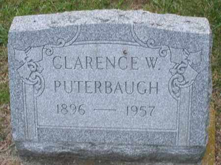 PUTERBAUGH, CLARENCE W. - Montgomery County, Ohio | CLARENCE W. PUTERBAUGH - Ohio Gravestone Photos