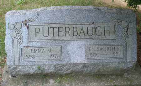 PUTERBAUGH, EMMA M. - Montgomery County, Ohio | EMMA M. PUTERBAUGH - Ohio Gravestone Photos
