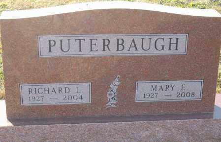 PUTERBAUGH, MARY E - Montgomery County, Ohio | MARY E PUTERBAUGH - Ohio Gravestone Photos