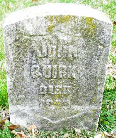 QUIRK, JOHN - Montgomery County, Ohio   JOHN QUIRK - Ohio Gravestone Photos
