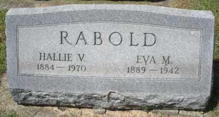 RABOLD, EVA M. - Montgomery County, Ohio   EVA M. RABOLD - Ohio Gravestone Photos
