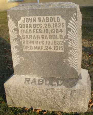 WEISER RABOLD, SARAH SALOME - Montgomery County, Ohio | SARAH SALOME WEISER RABOLD - Ohio Gravestone Photos