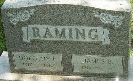 RAMING, DOROTHY I - Montgomery County, Ohio | DOROTHY I RAMING - Ohio Gravestone Photos