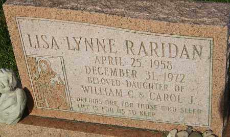 RARIDAN, LISA LYNNE - Montgomery County, Ohio | LISA LYNNE RARIDAN - Ohio Gravestone Photos