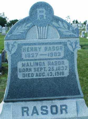 RASOR, HENRY - Montgomery County, Ohio | HENRY RASOR - Ohio Gravestone Photos