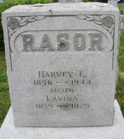 RASOR, HARVEY E. - Montgomery County, Ohio | HARVEY E. RASOR - Ohio Gravestone Photos