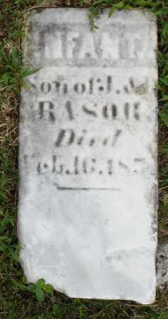 RASOR, INFANT SON - Montgomery County, Ohio   INFANT SON RASOR - Ohio Gravestone Photos