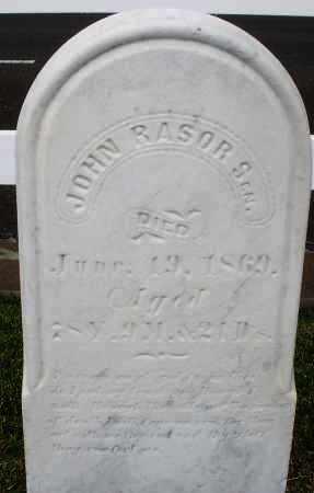 RASOR, JOHN SR. - Montgomery County, Ohio   JOHN SR. RASOR - Ohio Gravestone Photos