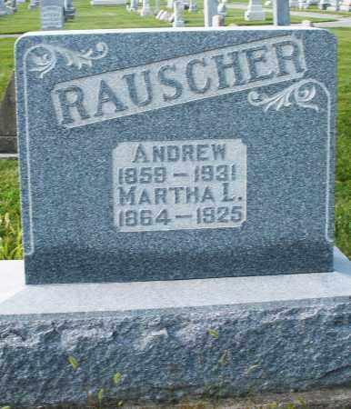 RAUSCHER, MARTHA L. - Montgomery County, Ohio | MARTHA L. RAUSCHER - Ohio Gravestone Photos