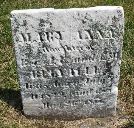 RE---LE, MARY ANN - Montgomery County, Ohio | MARY ANN RE---LE - Ohio Gravestone Photos