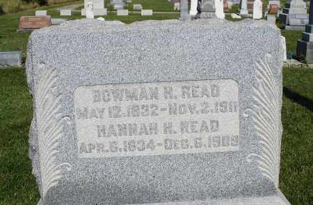 READ, BOWMAN H. - Montgomery County, Ohio | BOWMAN H. READ - Ohio Gravestone Photos