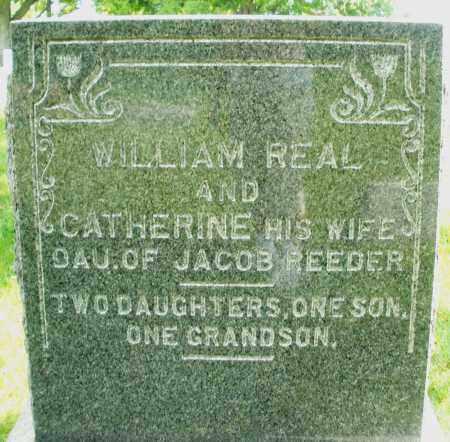 REAL, CATHERINE - Montgomery County, Ohio | CATHERINE REAL - Ohio Gravestone Photos