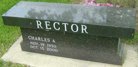RECTOR, CHARLES A - Montgomery County, Ohio   CHARLES A RECTOR - Ohio Gravestone Photos