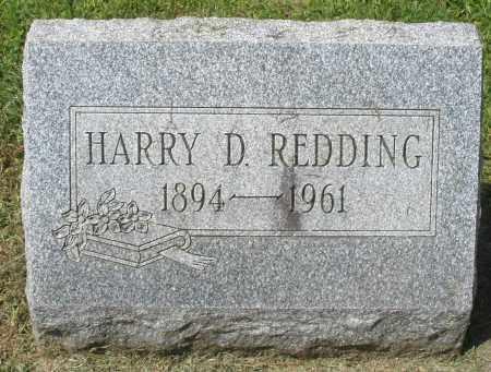 REDDING, HARRY D. - Montgomery County, Ohio | HARRY D. REDDING - Ohio Gravestone Photos