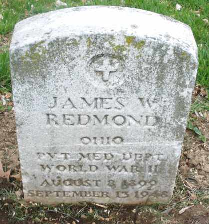 REDMOND, JAMES  W. - Montgomery County, Ohio | JAMES  W. REDMOND - Ohio Gravestone Photos